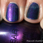 Nubar – Peacock Feathers and Indigo Illusion