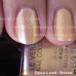 Chanel – Gold Lamé