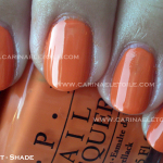 OPI Flutter Collection – Part 2 – Summer 2010