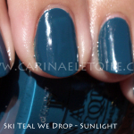 OPI – Ski Teal We Drop