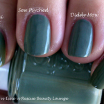 Chanel vs Essie vs Rescue Beauty Lounge – Khaki Vert vs Sew Psyched vs Diddy Mow