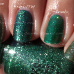 Comparison: China Glaze vs Orly vs Zoya – Mistletoe Kisses vs Meet Me Under the Mistletoe vs Ivanka