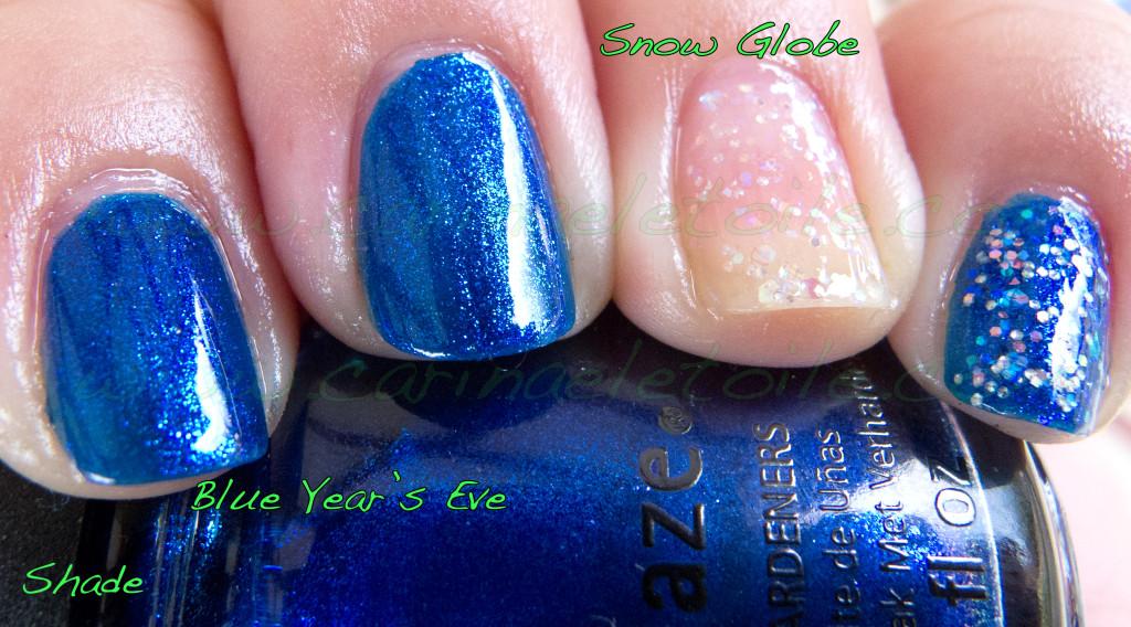 China Glaze Snow Globe China Glaze Blue Year's Eve