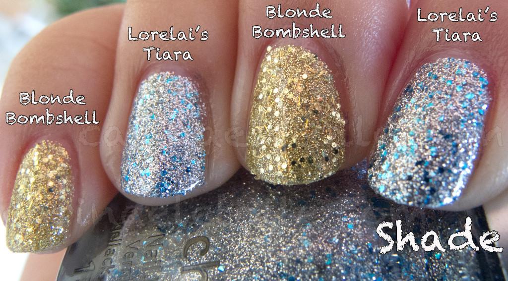 China Glaze Blonde Bombshell Lorelai's Tiara