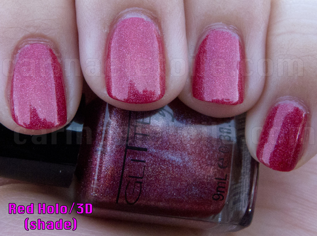 Glitter Gal Red 3D/Holo