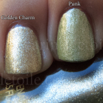 Revlon Punk and Golden Charm