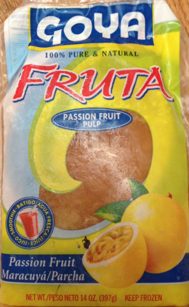 passion fruit lilikoi pulp packaging