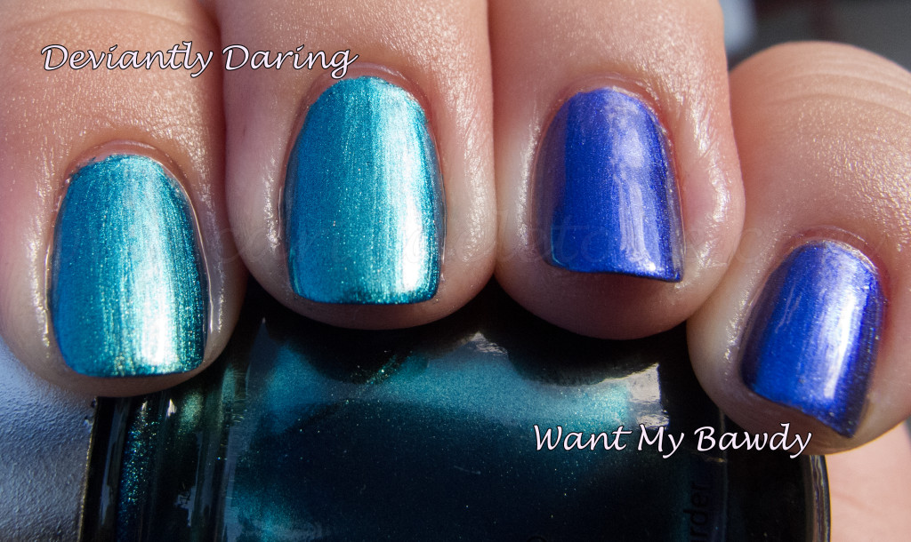 China Glaze Deviantly Daring China Glaze Want My Bawdy