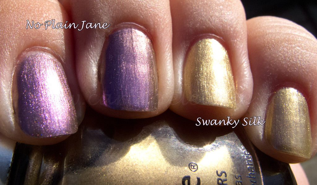 China Glaze No Plain Jane China Glaze Swanky Silk
