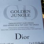 Dior Golden Jungle Nail Polish