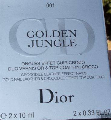 Dior Golden Jungle Duo Box