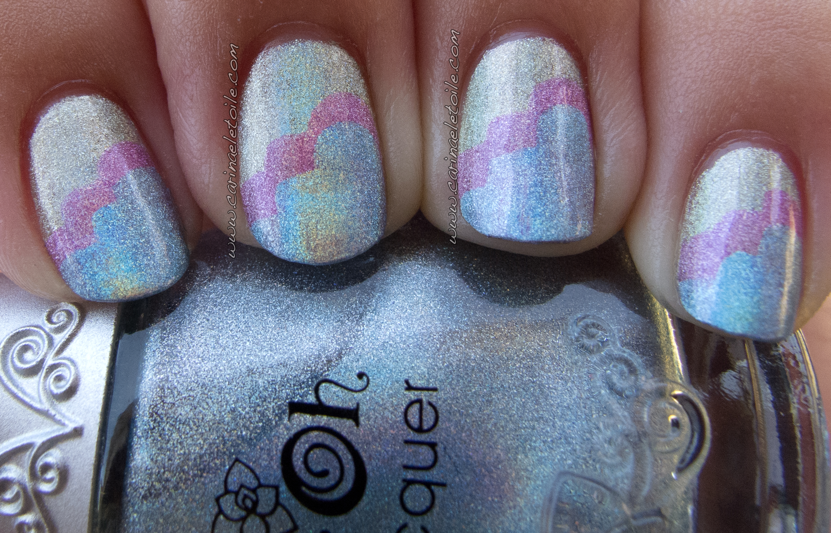 Holographic Cloud Mani NFU Oh