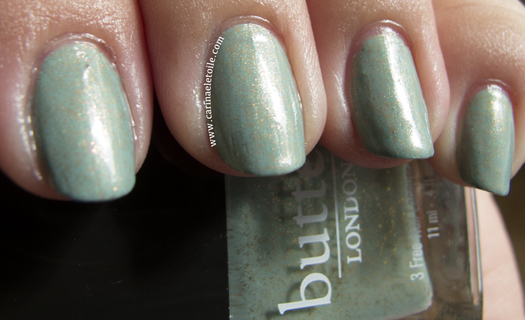 Butter London Two Fingered Salute