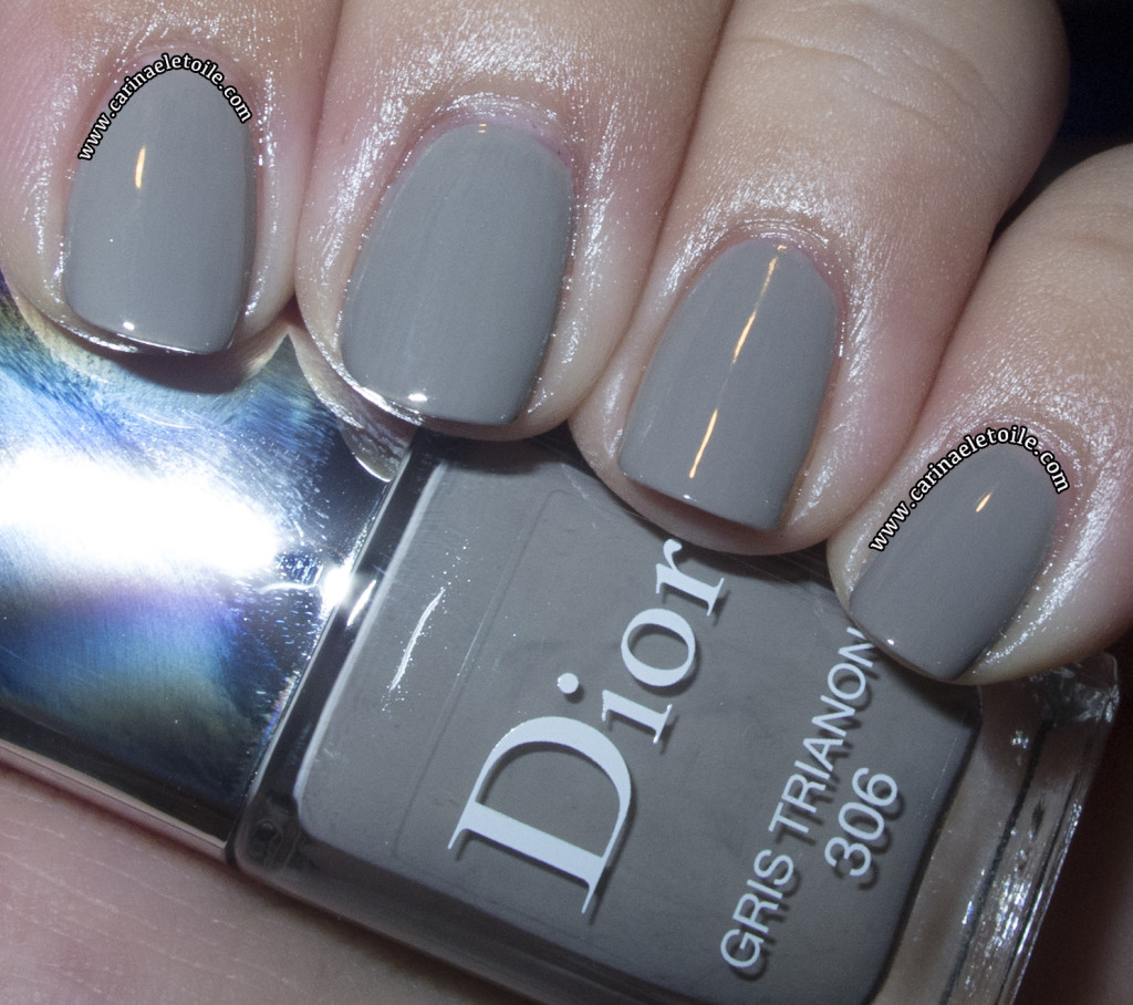 Dior Cherie Bow nail polish - Gris Trianon