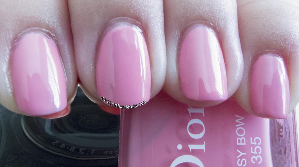 Dior Cherie Bow nail polish