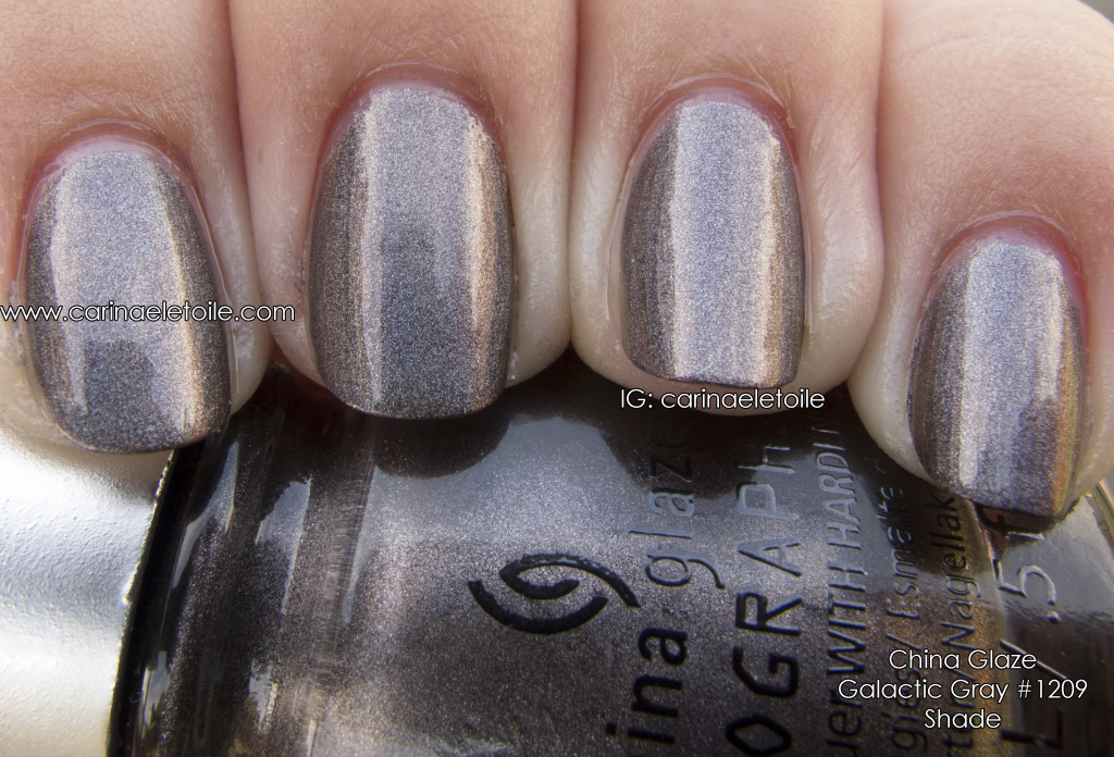 China Glaze Galactic Gray