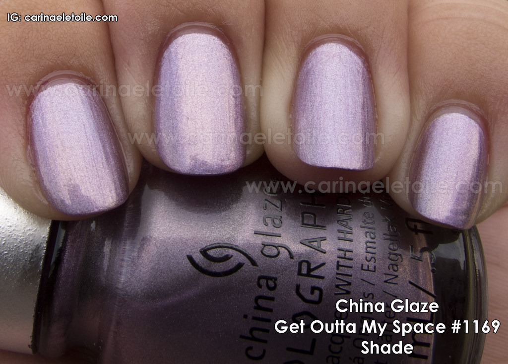 China Glaze Get Outta My Space