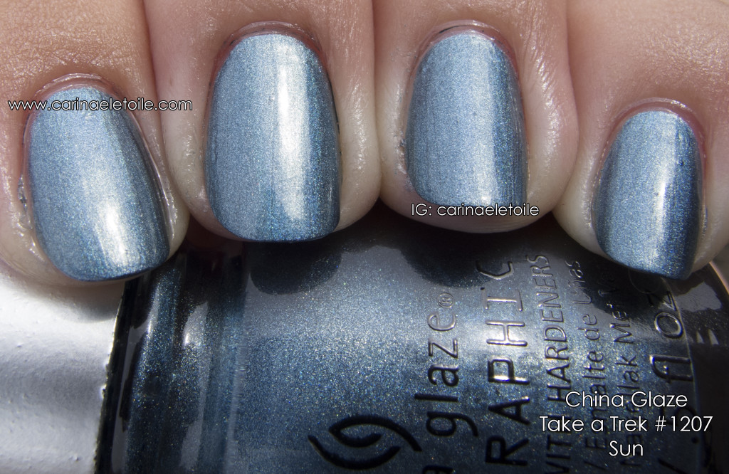 China Glaze Take a Trek