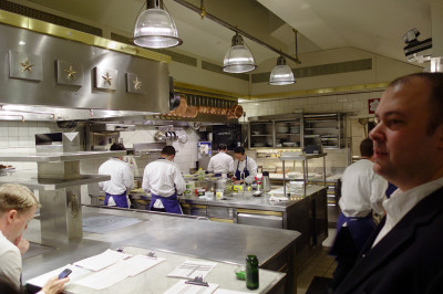 Kitchen at The French Laundry