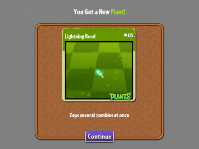 Plants vs Zombies 2: It's About Time Lightning Reed