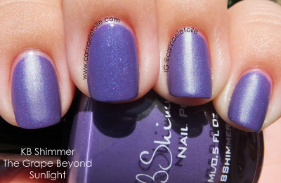 KB Shimmer The Grape Beyond