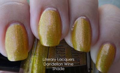 Literary Lacquers Dandelion Wine