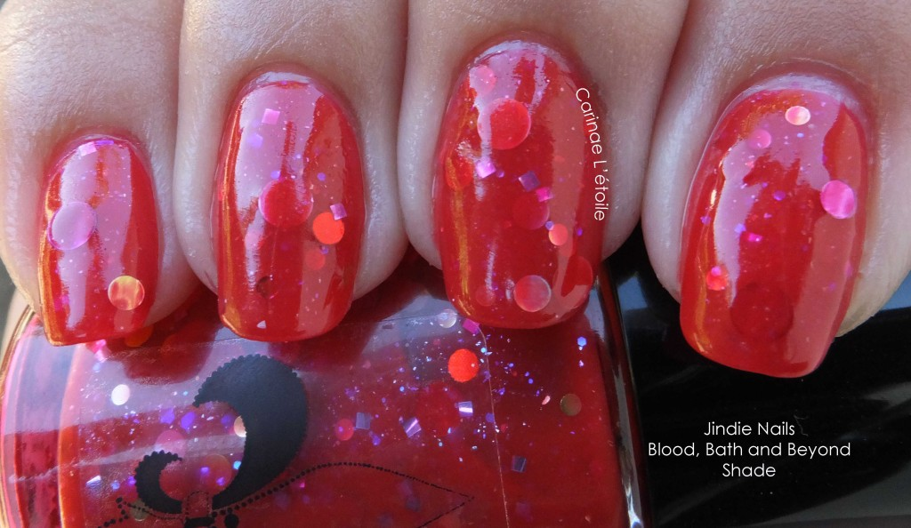 Jindie Nails Blood Bath and Beyond