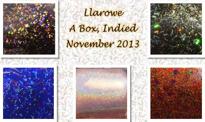 Llarowe A Box Indied November 2013