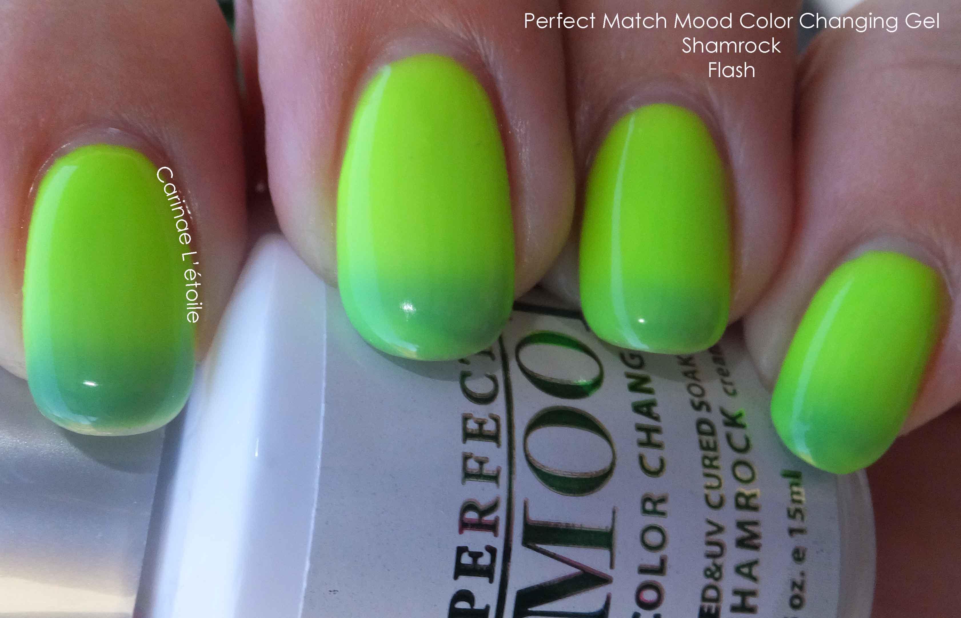 Perfect Match Mood Color Changing Gel | Carinae L\'etoile\'s polish stash