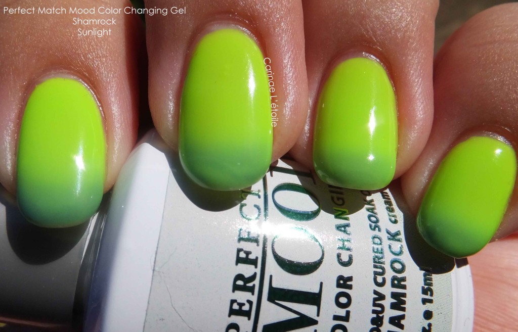 Perfect Match Mood Color Changing Gel Shamrock