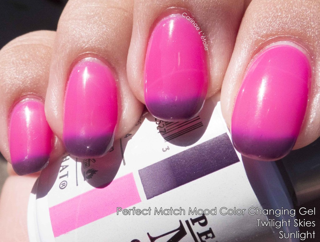 Perfect Match Mood Color Changing Gel Twilight Skies