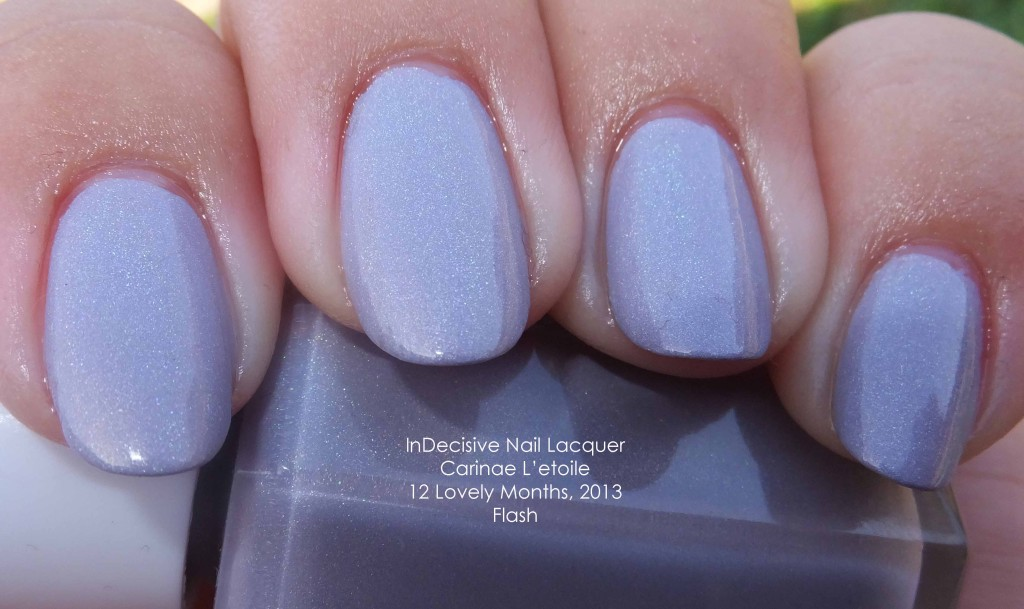 InDecisive Nail Lacquer Carinae L'etoile 12 Lovely Months, 2013
