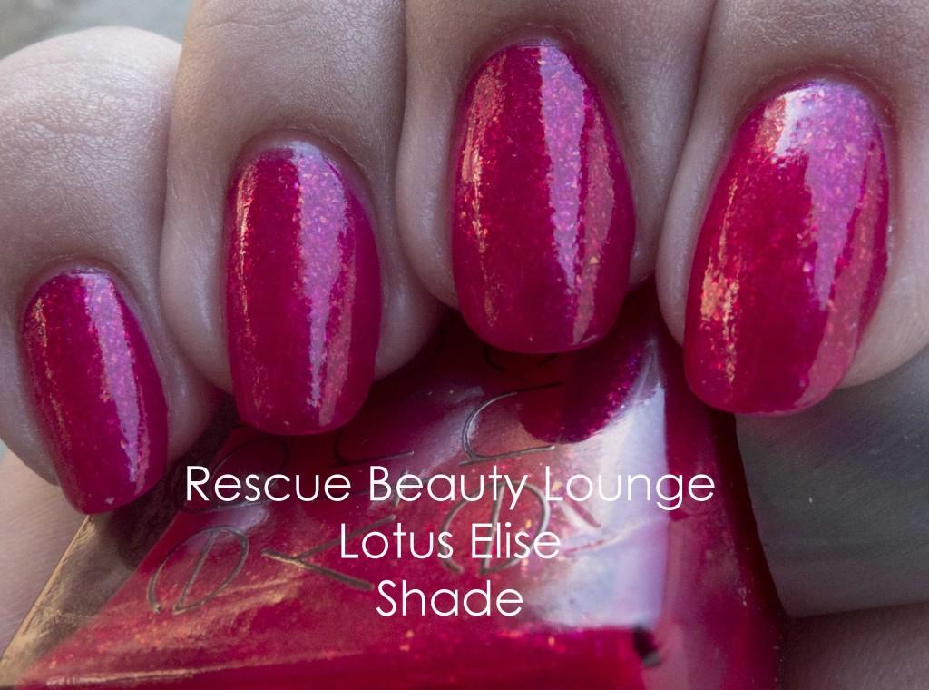 Rescue Beauty Lounge Lotus Elise