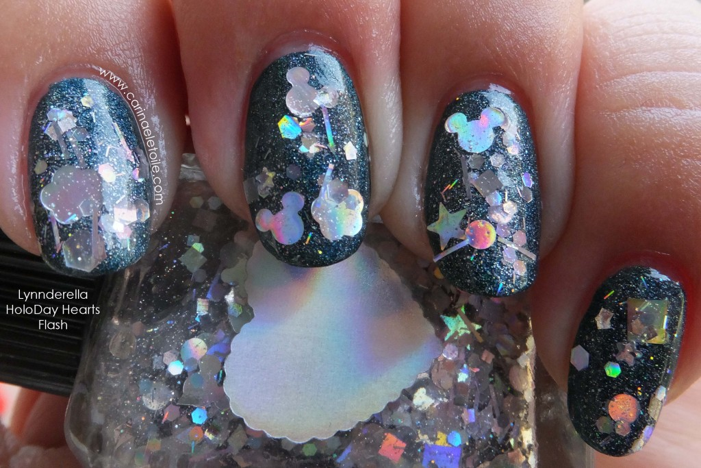 Lynnderella HoloDay Hearts - Flash