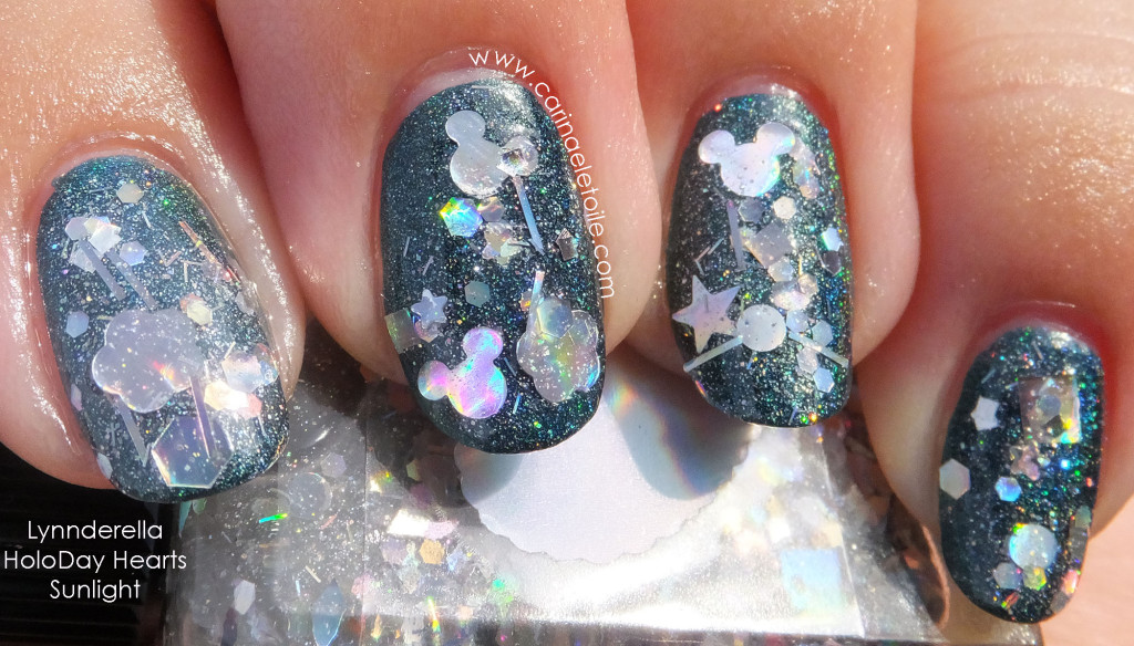 Lynnderella HoloDay Hearts - Sunlight