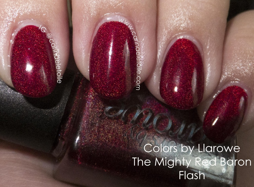 Colors by Llarowe The Mighty Red Baron