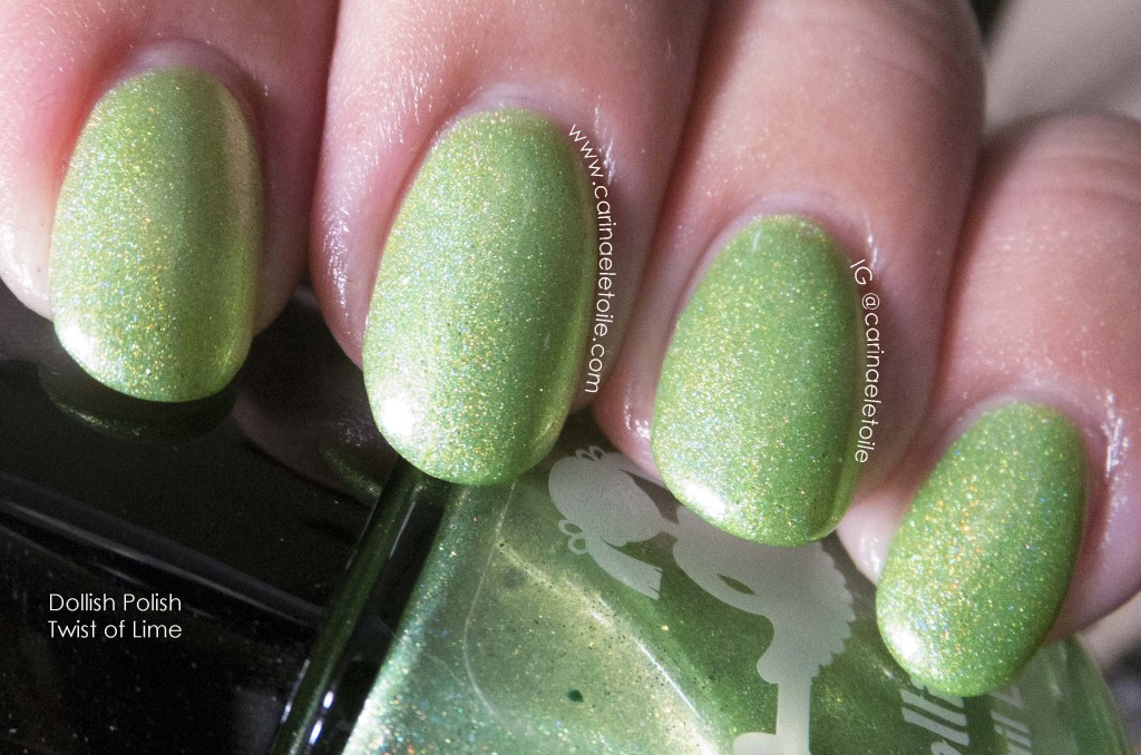 Dollish Polish Twist of Lime Direct Light