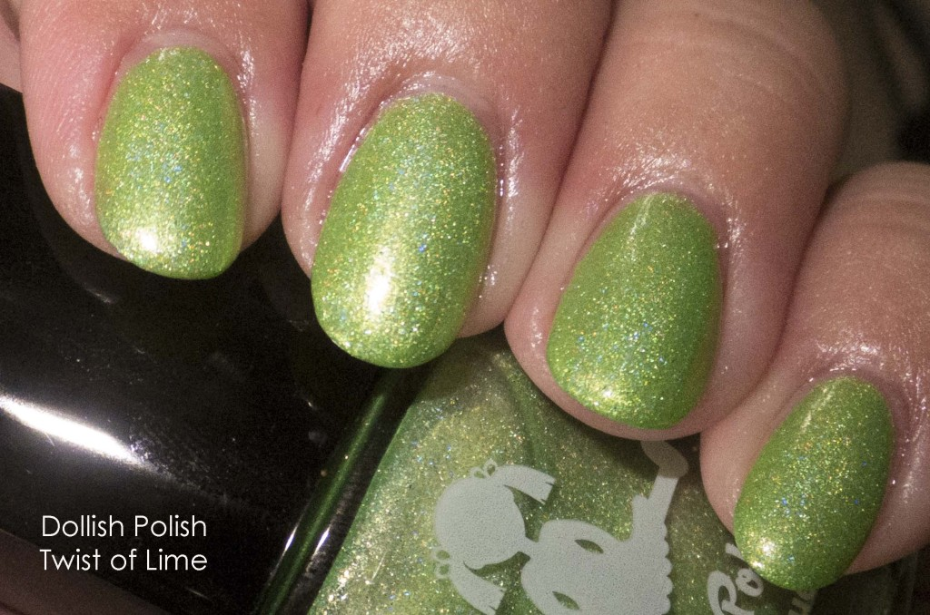 Dollish Polish Twist of Lime Flash