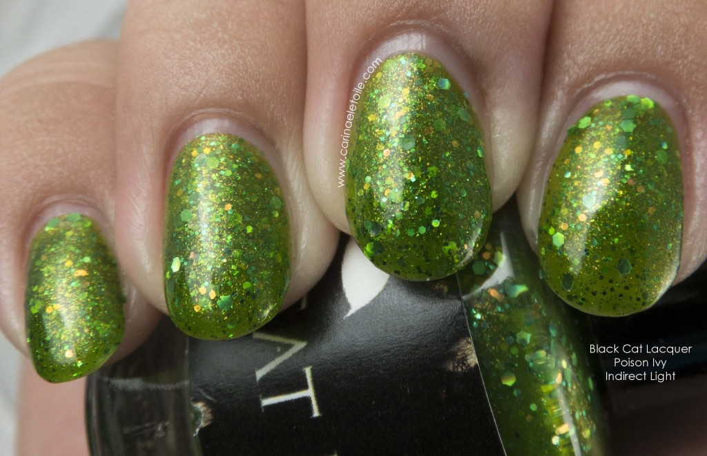 Black Cat Lacquer Poison Ivy Indirect Light