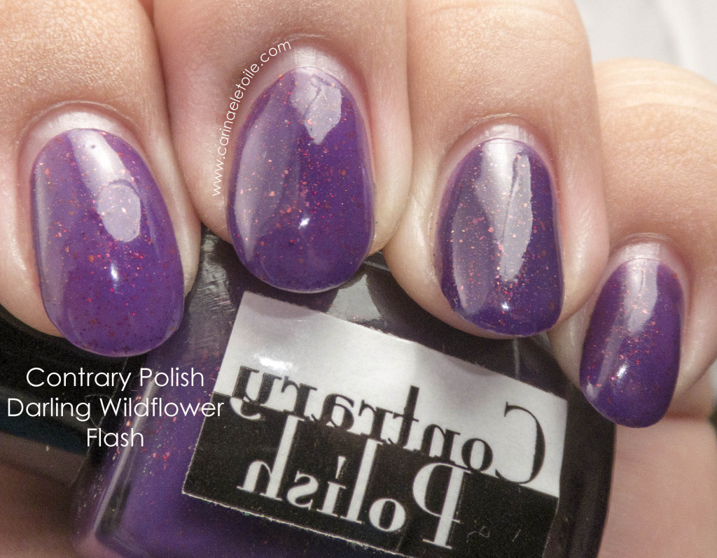 Contrary Polish Darling Wildflower Flash