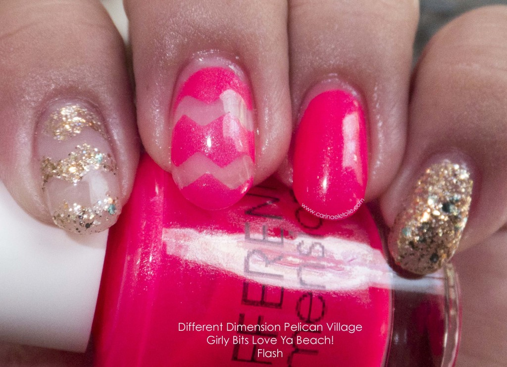 Different Dimension Pelican Village Girly Bits Love Ya Beach! Flash