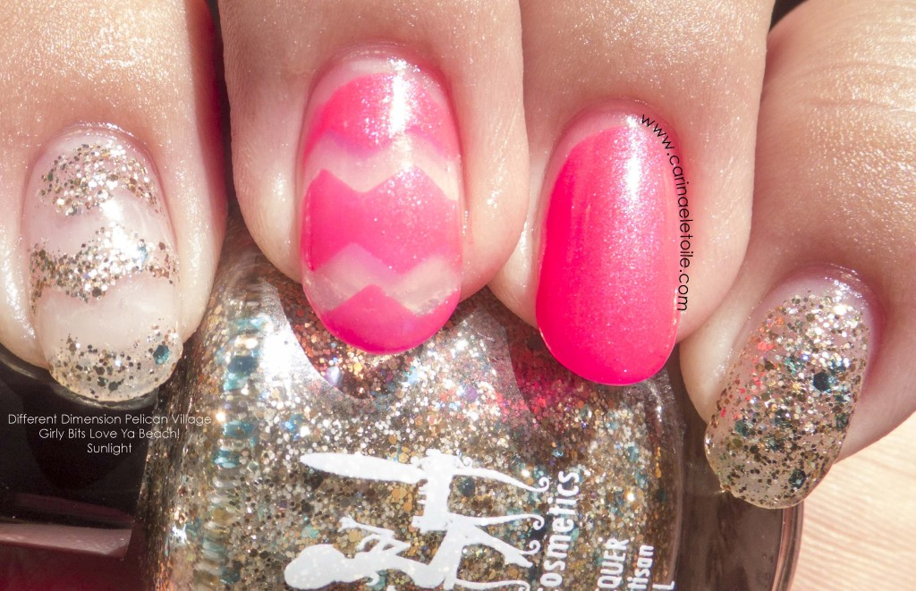 Different Dimension Pelican Village Girly Bits Love Ya Beach! Sunlight