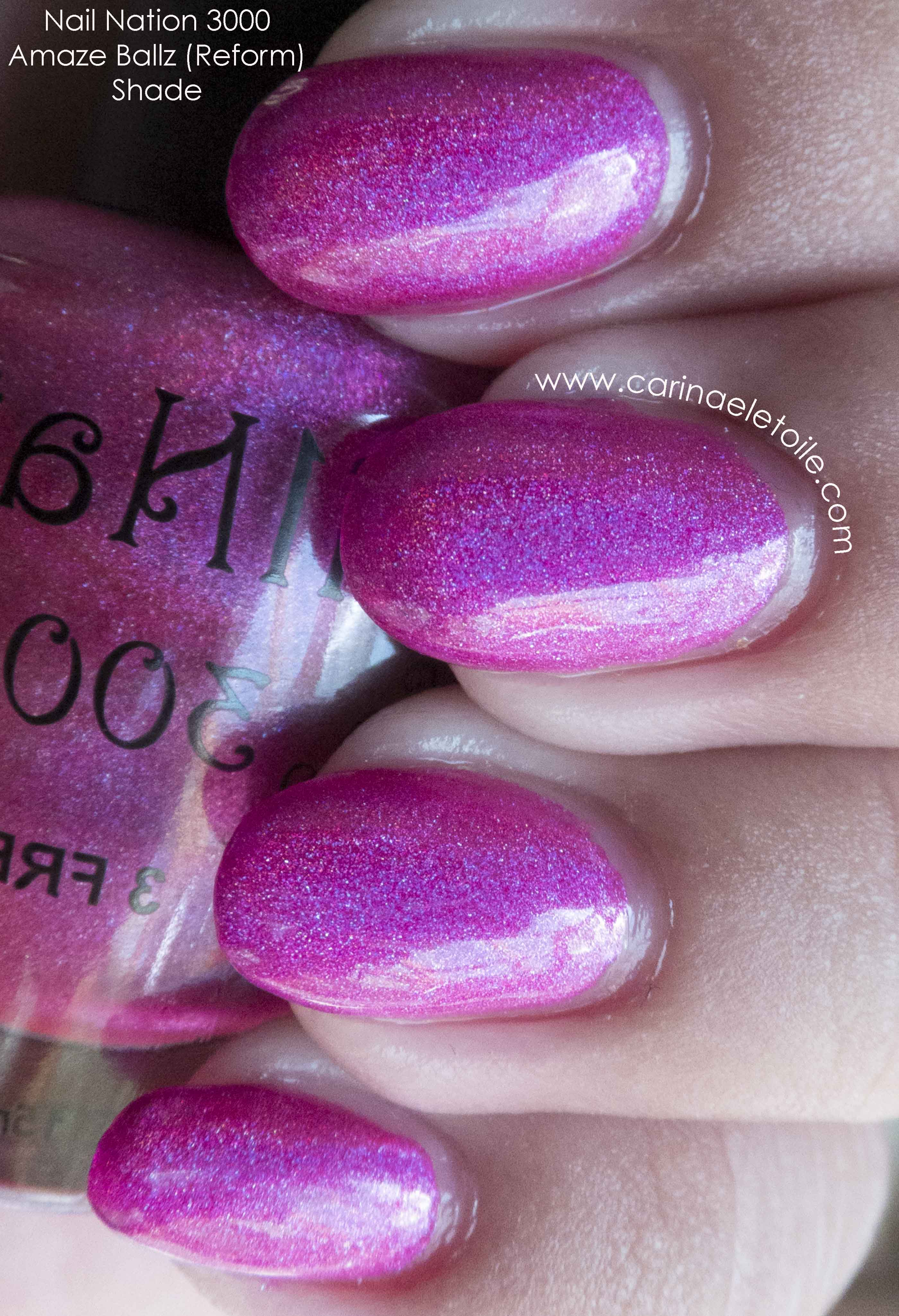 Nail Nation 3000 Amaze Ballz   Carinae L\'etoile\'s polish stash