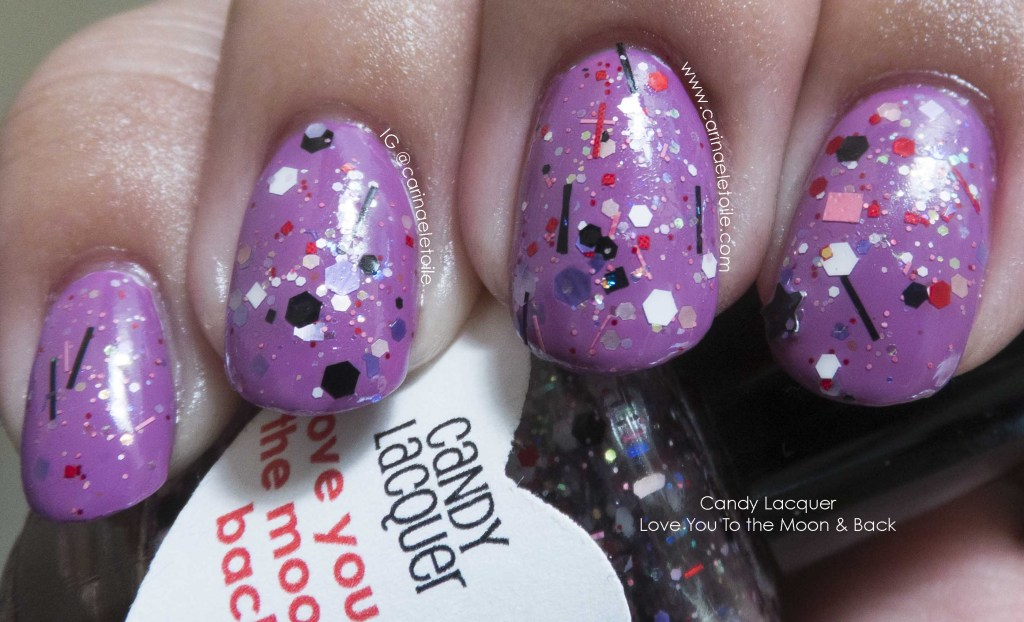 Candy Lacquer Love You To the Moon & Back