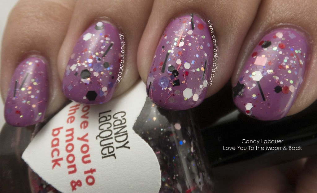 Candy Lacquer Love You To the Moon & Back Flash