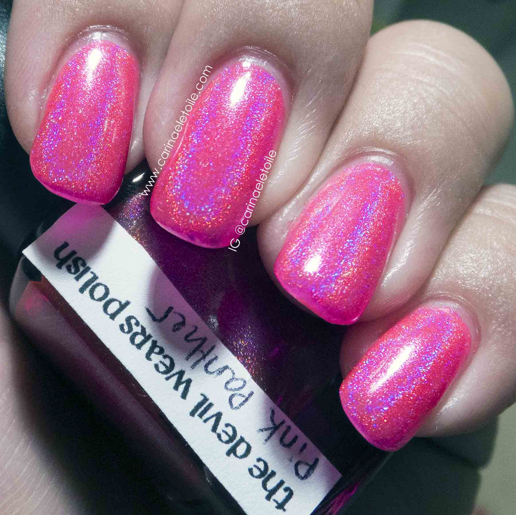 The Devil Wears Polish Pink Panther