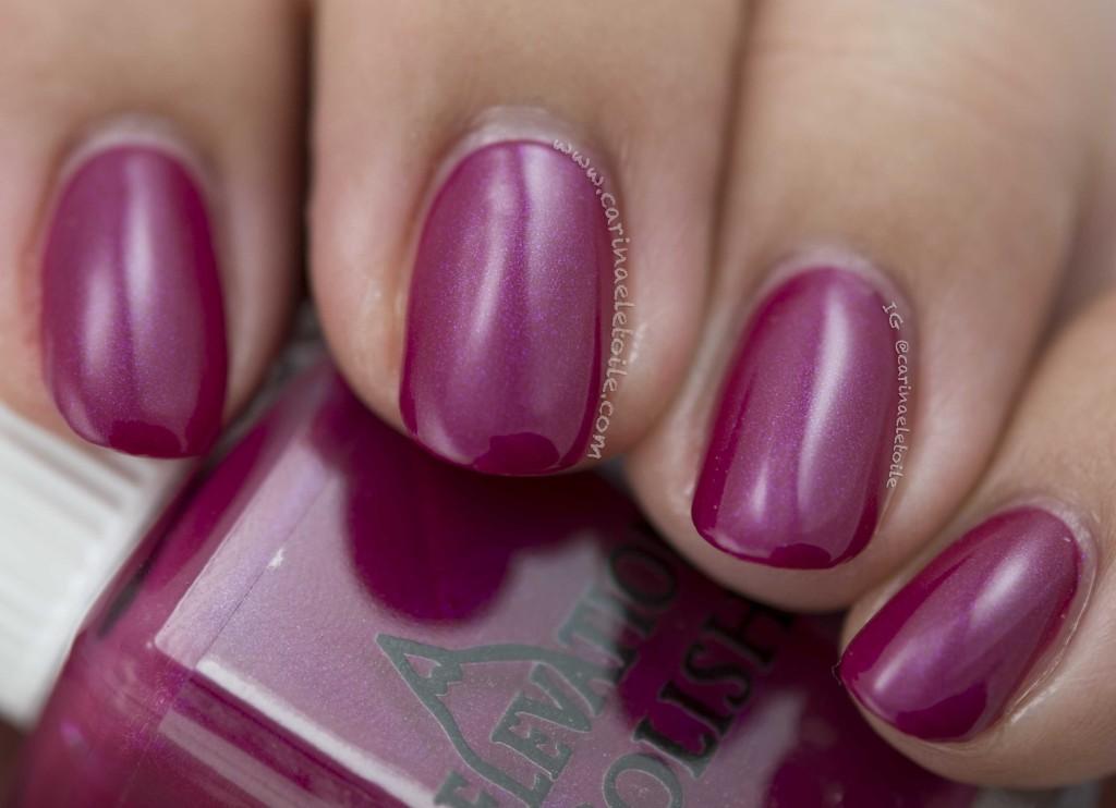 Elevation Polish Purple Blotch Basselet