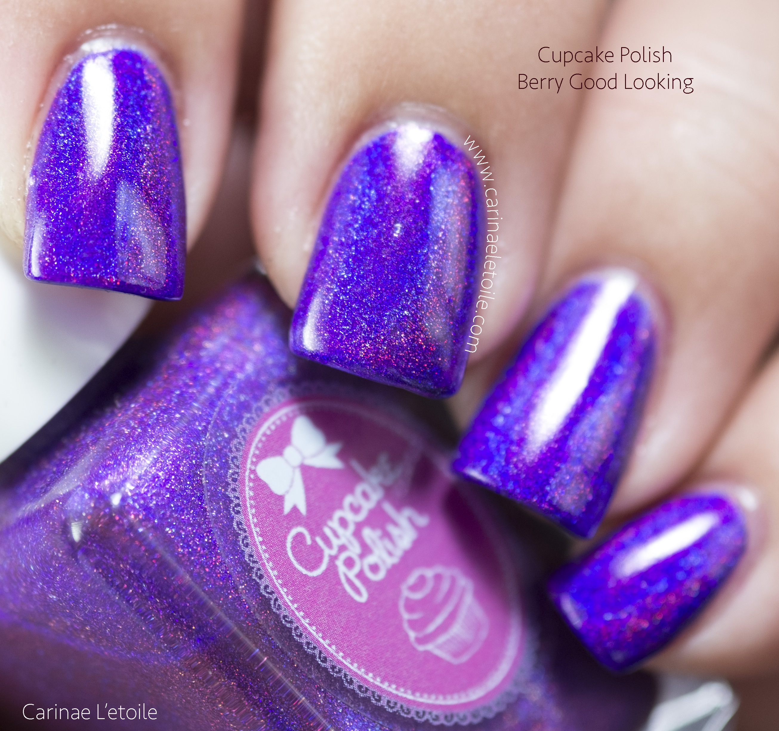 Cupcake Polish Berry Good Looking