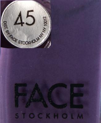Face Stockholm 45 label