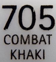 IsaDora 705 Combat Khaki label